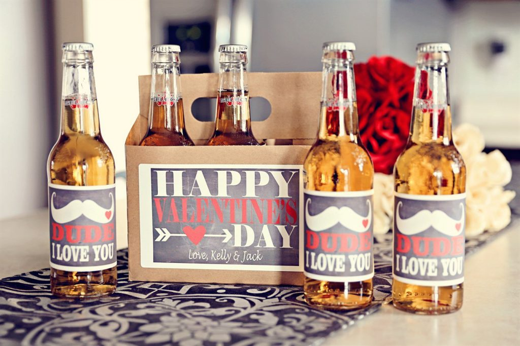 happy valentine's day beer