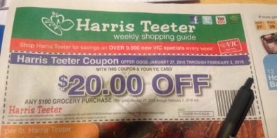 harris teeter coupon january 2016