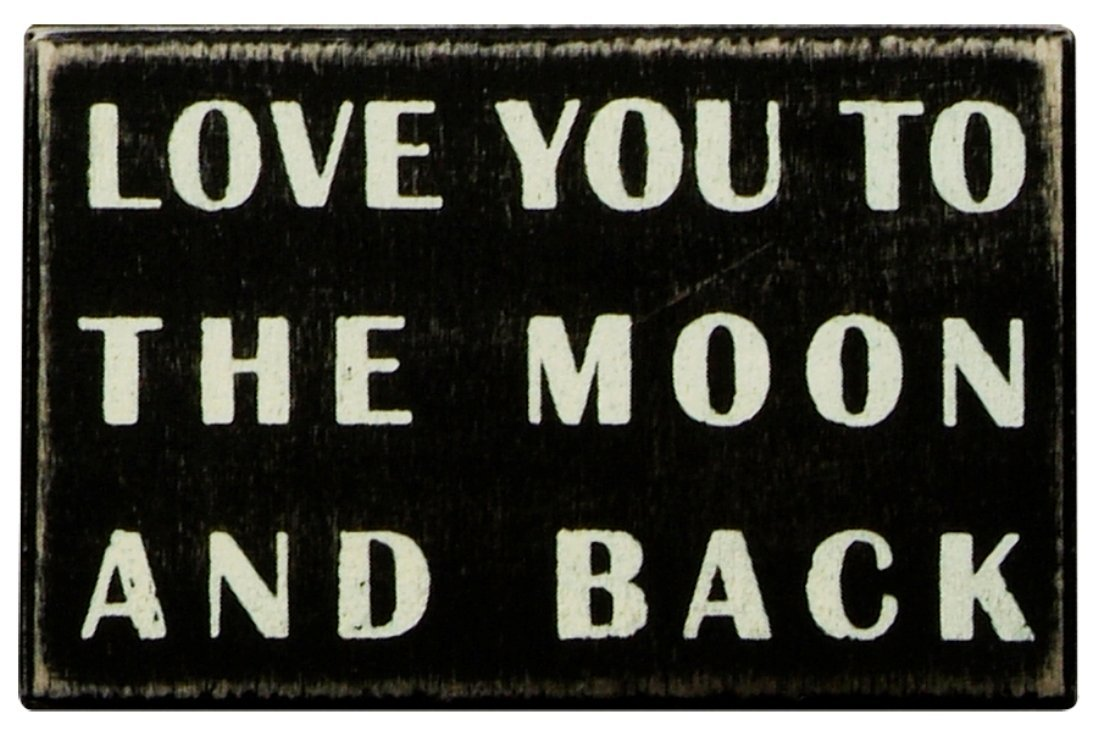love you to the moon and back. Black Bedroom Furniture Sets. Home Design Ideas