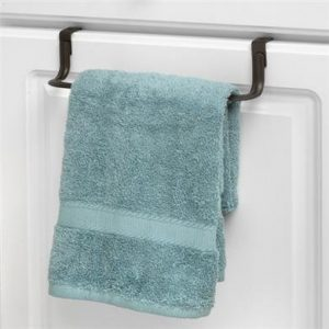 over the cabinet door towel holders