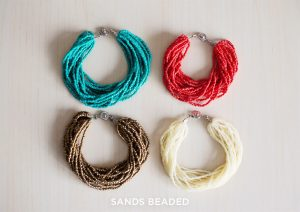 sands beaded