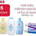 target gift card baby toiletries