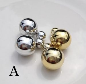 two sided earrings
