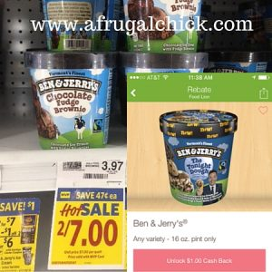 Ben and Jerrys Food Lion