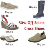 50% Off Select Crocs Shoes