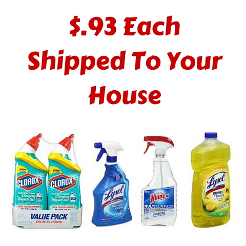 $.93 Each Shipped To Your House