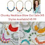 Chunky Necklace Blow Out Sale (45 Styles Available) $5.99