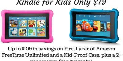 Kindle for Kids Only $79