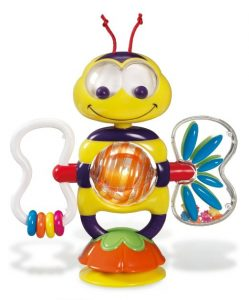 bobble bee suction toy