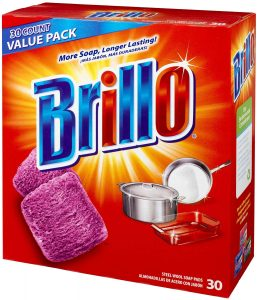 brillo red pads