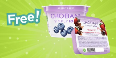 free chobani yogurt