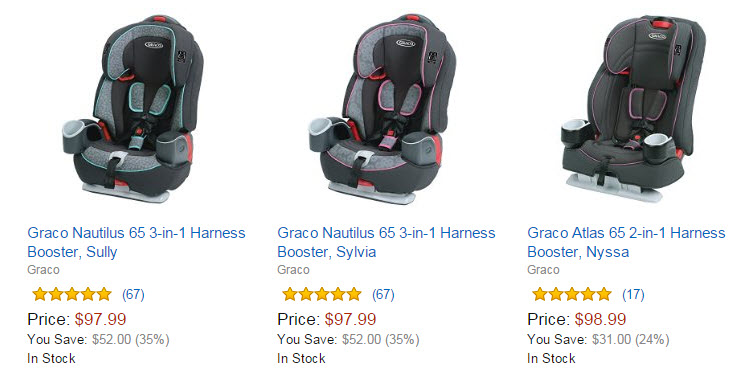 Amazon 35 Off Graco Car Seats Gear 2 In 1 Harness Booster ONLY 8999 Reg 12999