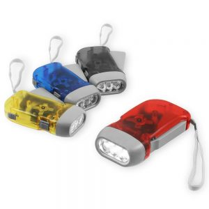 hand crank flashlights