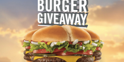 million burger give away