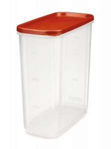 rubbermaid 21 cup dry food container