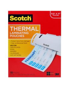 scotch thermal pouches