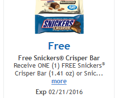 snickers cripser