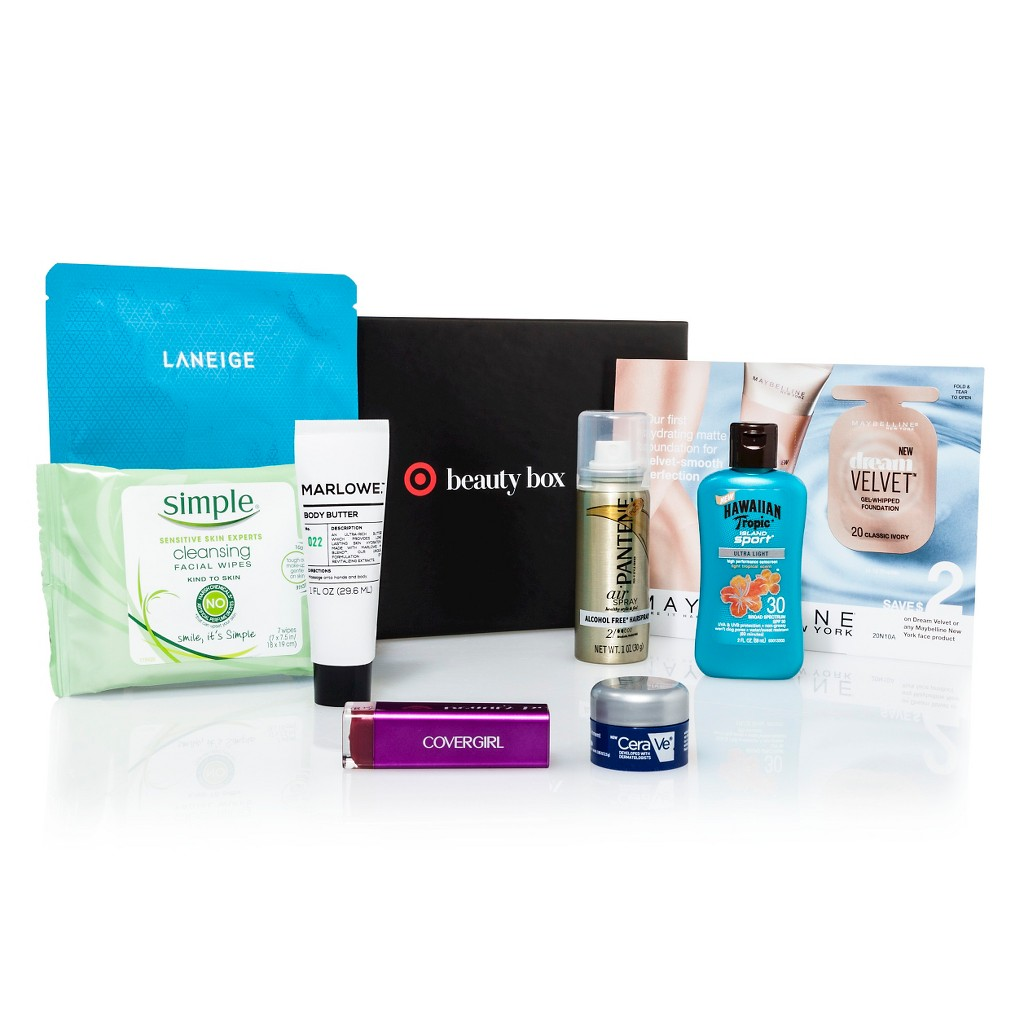 target summer beauty box