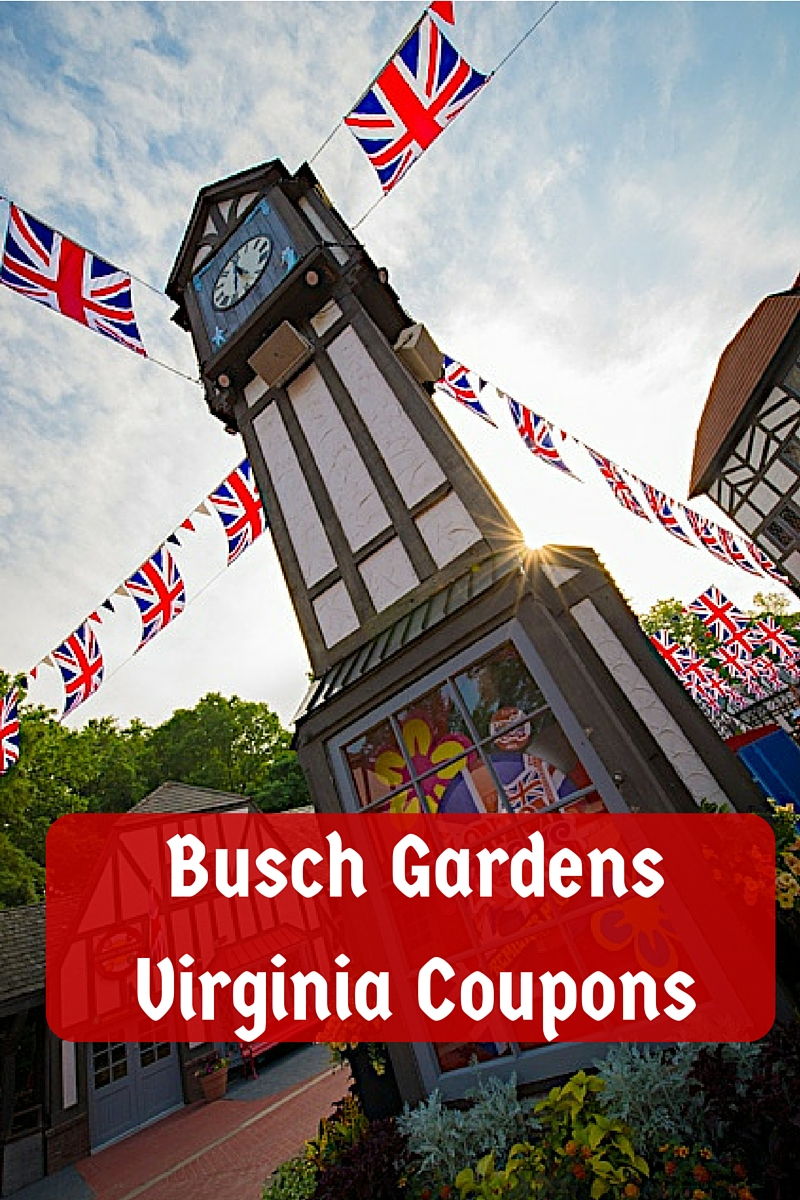 Busch Gardens Virginia Coupons