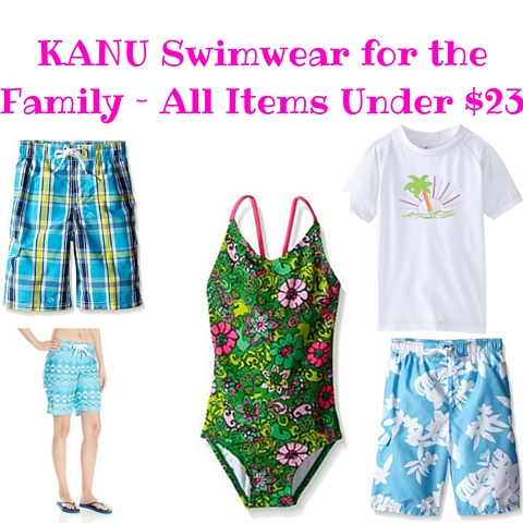 KANU Swimwear for the Family – All Items Under $23