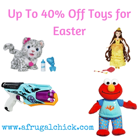 Up To 40% Off Toys for Easter