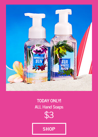 bath and body works 3 hand soap