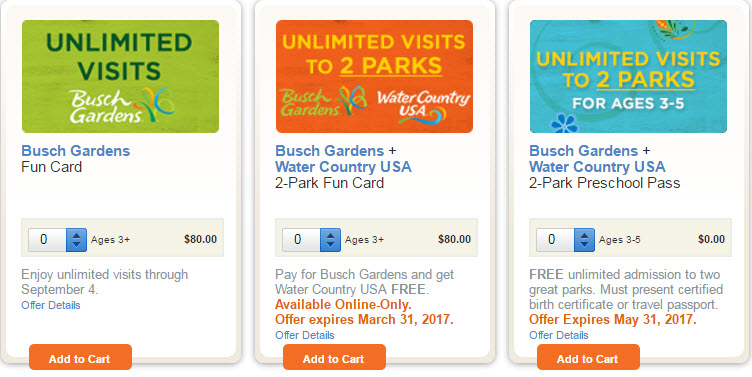 Busch Gardens Fun Card Vs Annual Pass Fasci Garden