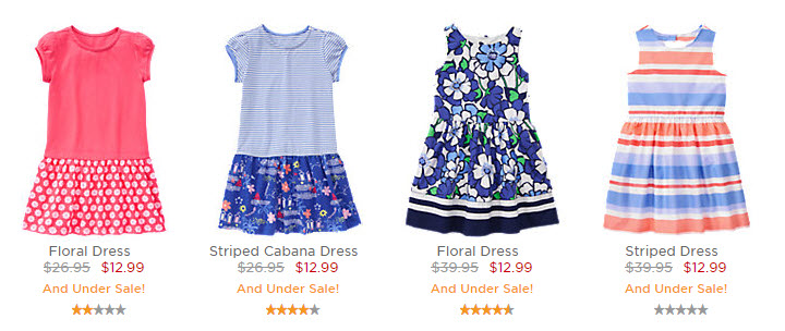 gymboree dresses march 2016