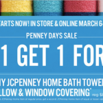 jcpenney towel sale