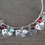 mother and child bird bracelet