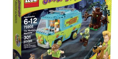 scooby doo mystery machine lego
