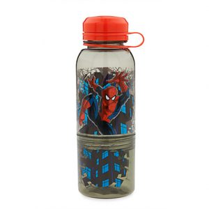 spider man snack bottle