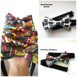 super hero bow ties