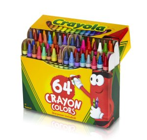 64 pack of crayons