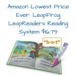 Amazon Lowest Price Ever- LeapFrog LeapReaders Reading System $16.79