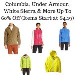 Columbia, Under Armour, White Sierra & More Up To 60% Off (Items Start at $4.19)