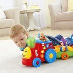 Fisher-Price Laugh and Learn Smart Stages Puppys Smart Train Multi-Colored