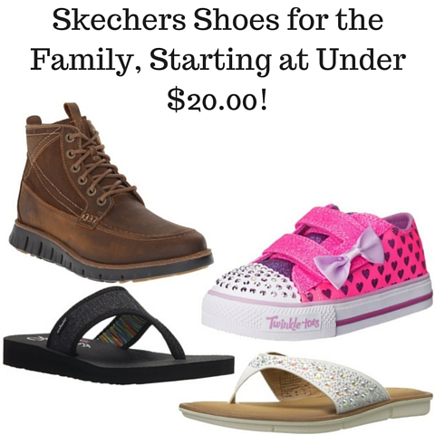 Skechers Shoes for the Family, Starting at Under $20.00!