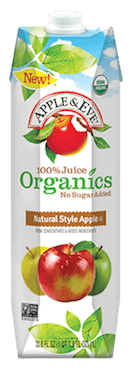 apple and eve organic