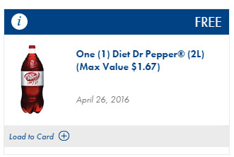 free diet dr pepper