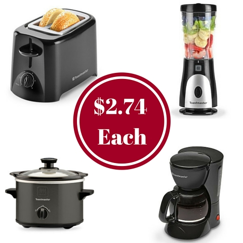 kohl's: small appliances as low as $2.74 each - a frugal chick