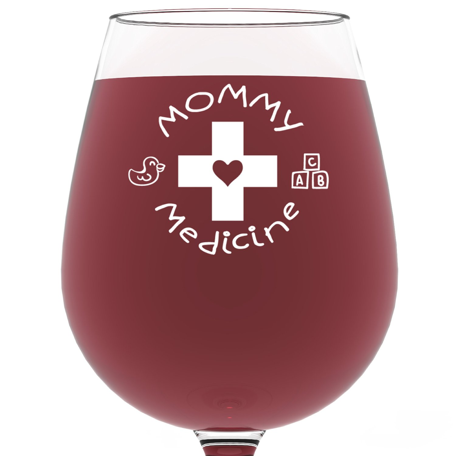 amazon mothers day mommy medicine wine glass only 1608