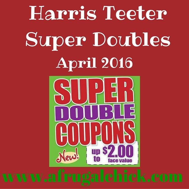 Harris Teeter Super Doubles April 2016