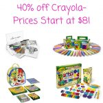 40% off Crayola-Prices Start at $8!