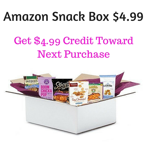 Amazon Snack Box $4.99