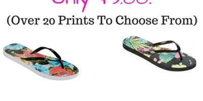 CUTE Flip Flops For Only $3.00!