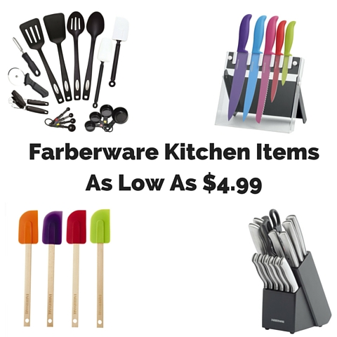Farberware Kitchen Items As Low As $4.99