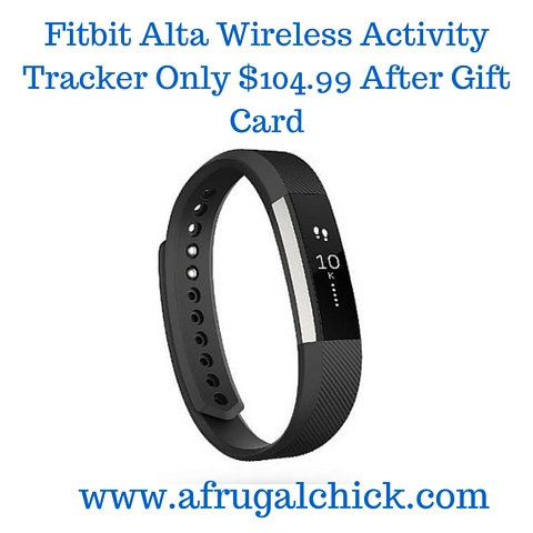 Fitbit Alta Wireless Activity Tracker Only $100 (1)
