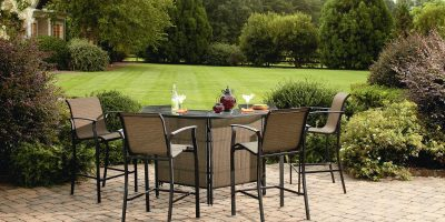 Garden Oasis Harrison 5 Piece Bar Set 3
