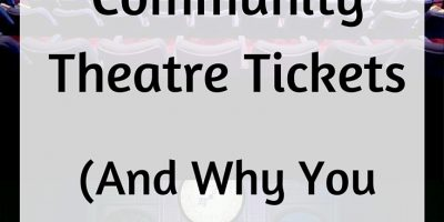 How To Save on Community Theatre Tickets